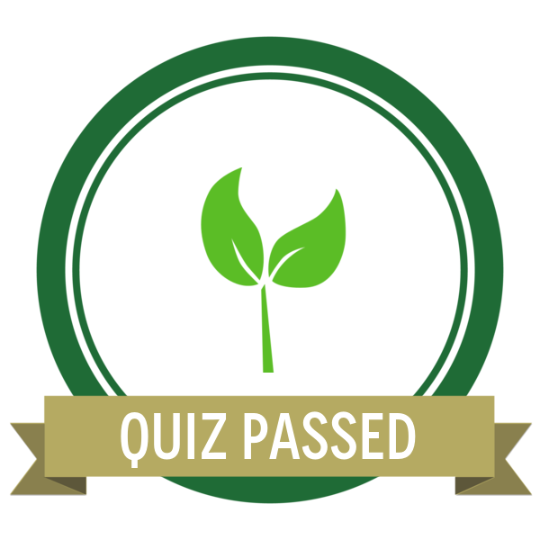 """Badge icon """"Plant (2470)"""" provided by Rachel Fisher, from The Noun Project under Creative Commons - Attribution (CC BY 3.0)"""