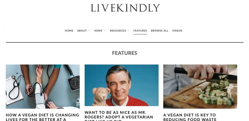 Live Kindly – the Maxim of Veganism